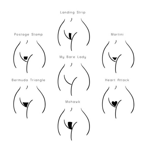 waxing types and their meaning