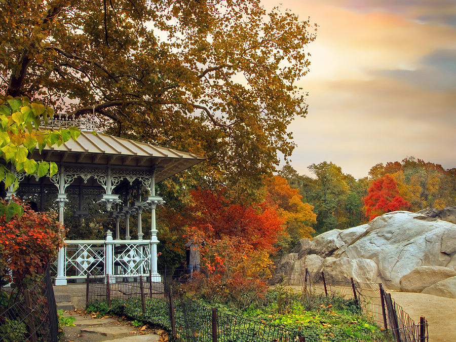 great shot from http://fineartamerica.com/featured/ladies-pavilion-in-autumn-jessica-jenney.html