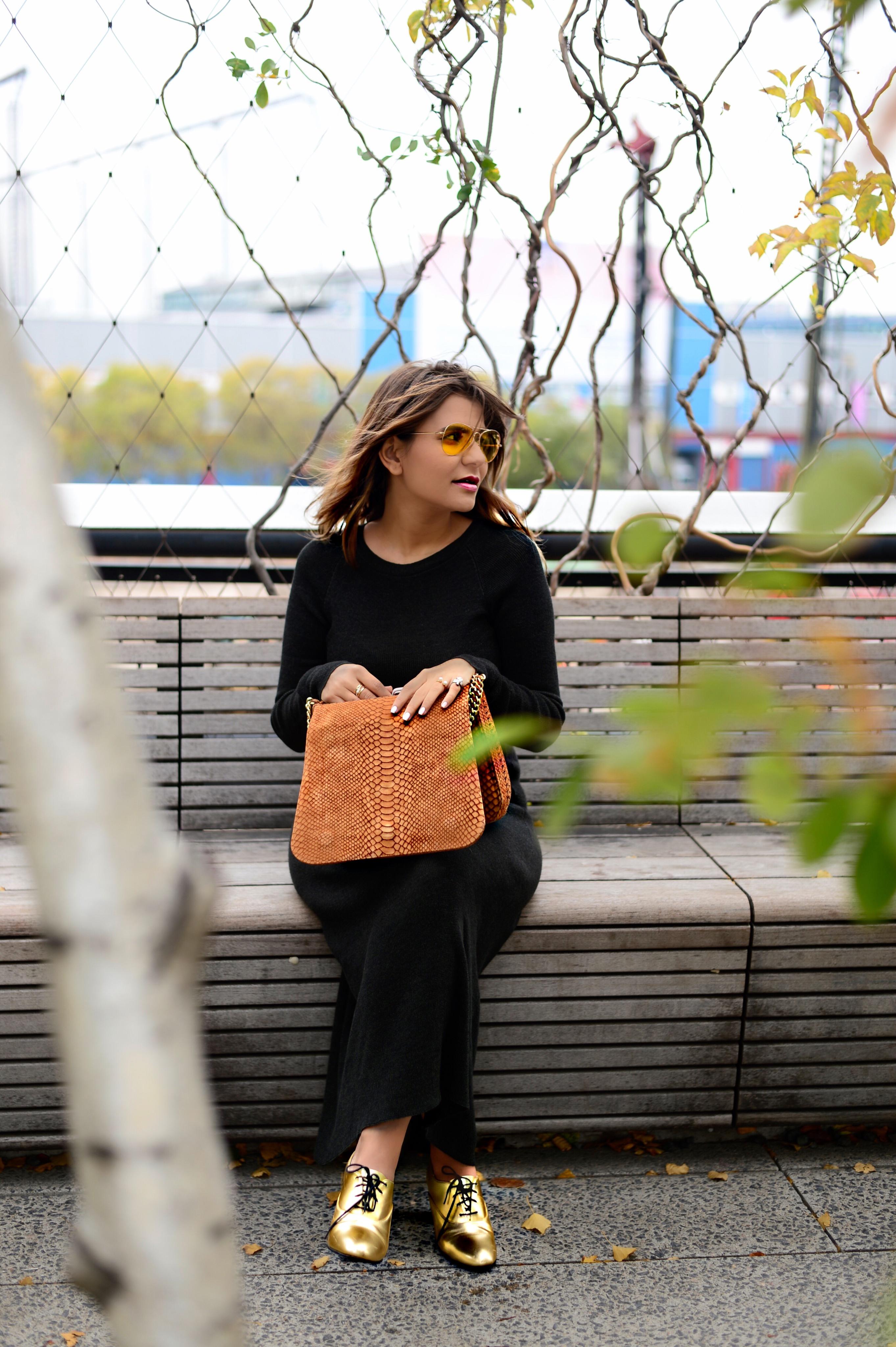 jersey-dress-gold-shoes-alley-girl-betul-yildiz-new-york-fashion-blogger-11