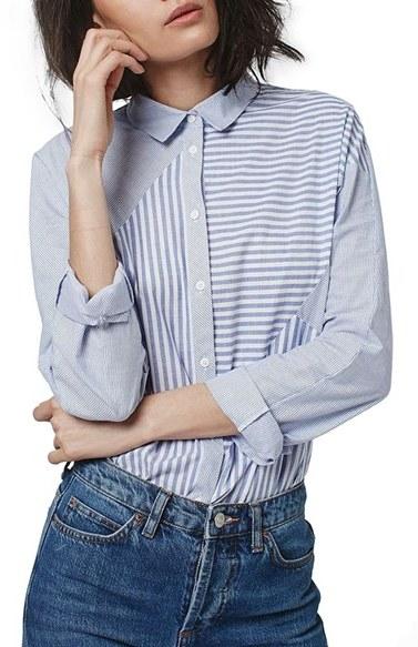 topshop-stripe-shirt