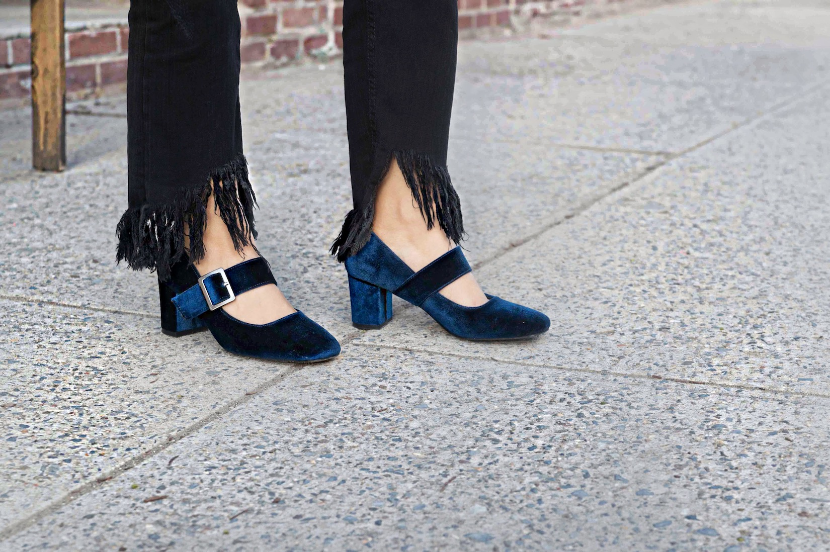 zara-fringe-jeans-velvet-mary-jane-shoes-3