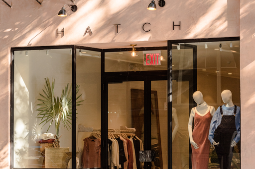 HATCH's storefront